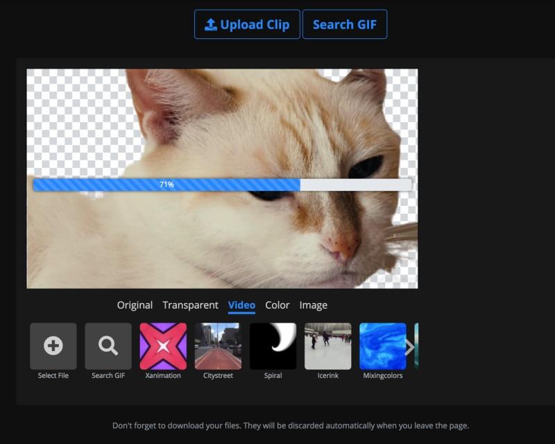 Unscreen – 在线清除视频背景的网站,一键给视频抠图!