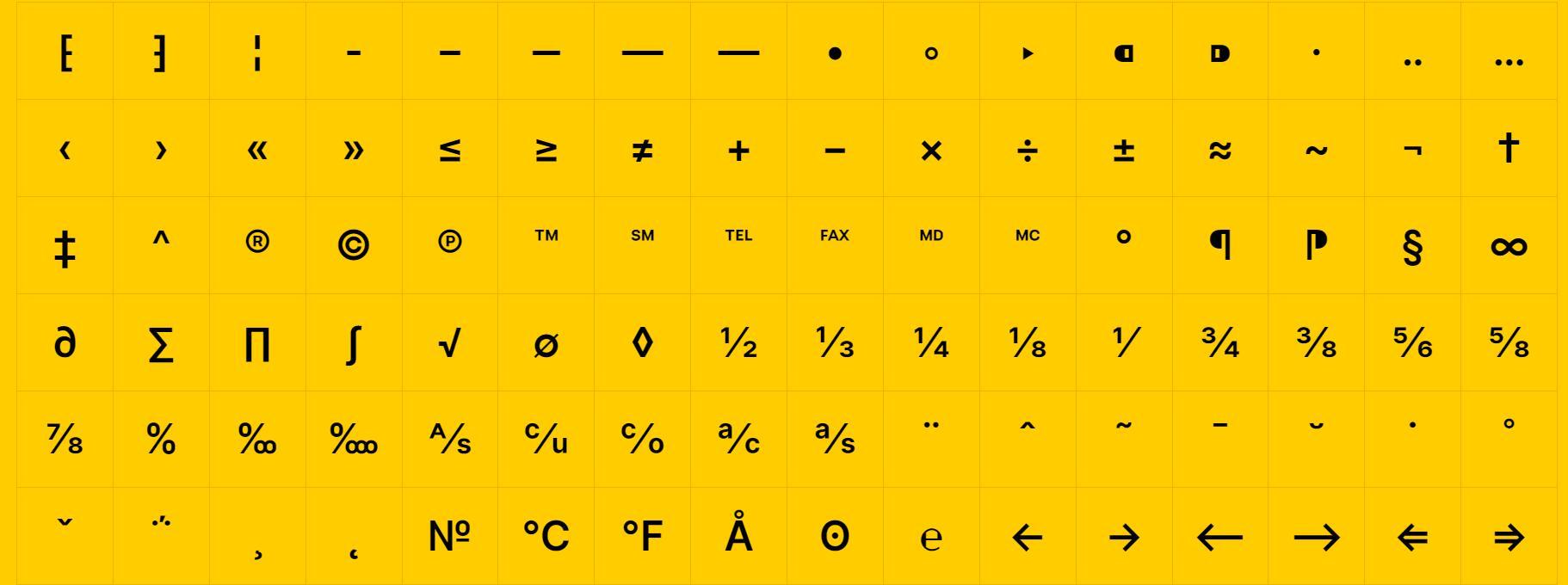 Glyphy – 轻松复制和粘贴字形特殊字符