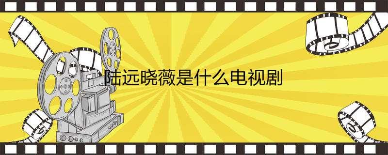 陆远晓薇是什么电视剧