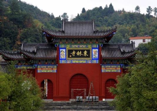 东林寺在什么地方,距九江市16公里的庐山西麓