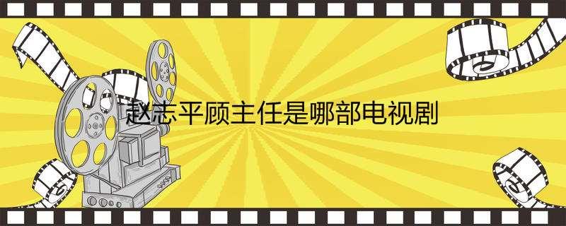 赵志平顾主任是哪部电视剧