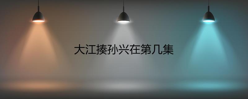 大江揍孙兴在第几集