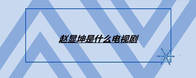 赵显坤是什么电视剧