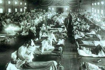 世界死亡人数最多的灾难:11个月丧生4千万人(十亿人感染)